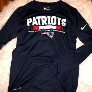 Nike Dri-Fit Patriots Long Sleeve